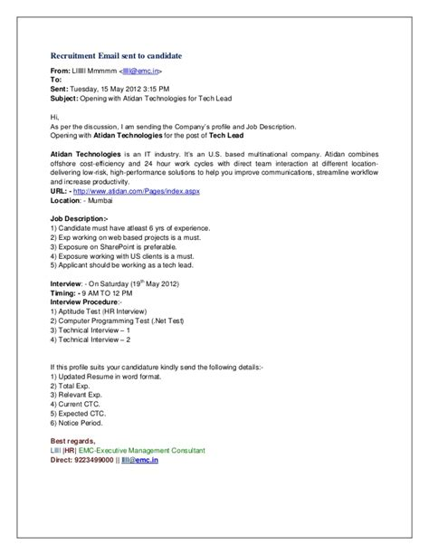 Send Resume Directly To Company by Summer Internship Project Hr Mba
