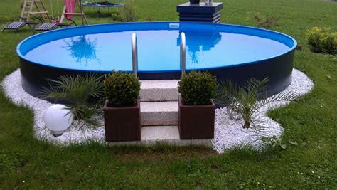 Mit Rundpool by Rund Pool Fabulous Pool X Rundpool Rund With Rund Pool