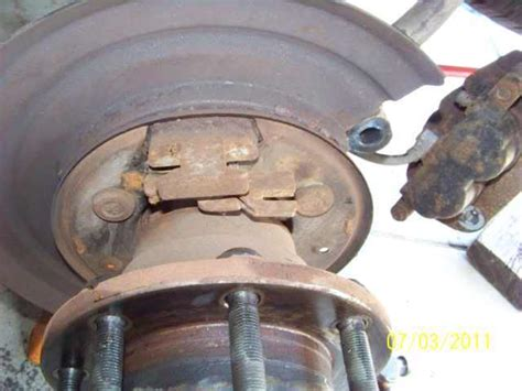 parking brake shoe replacement page  ford truck