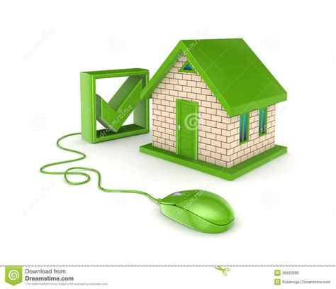 Real Estate Online Concept Royalty Free Stock Image