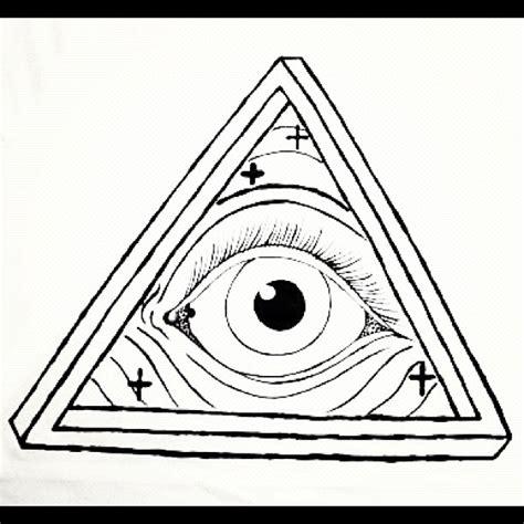Illuminati Triangle Meme - drawn illuminati triangle pencil and in color drawn illuminati triangle