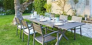 Carrefour Table Jardin : table de jardin carrefour mobilier jardin en bois maison email ~ Teatrodelosmanantiales.com Idées de Décoration