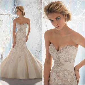 beaded wedding dress with sweetheart neckline sang maestro With wedding dress beads