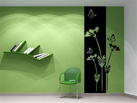 Kreative Wandgestaltung Küche by Banner Pflanze Wandtattoo Wandbanner Pflanze Mit