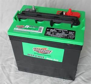 New Interstate 8v 8 Volt Golf Cart Battery Battery Deep Cycle Ezgo Club Car Rv