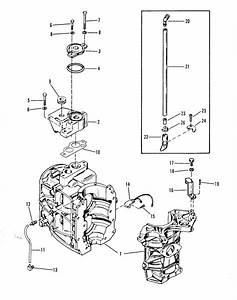 Mercury Marine 3 5 Hp Cylinder Block  U0026 Thermostat Parts