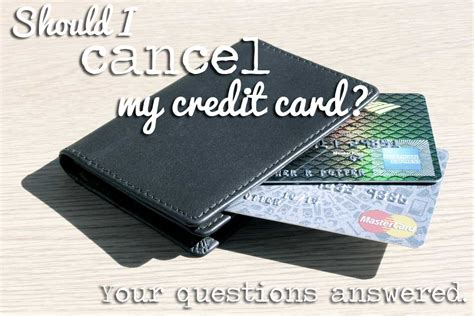 With banks, grocery stores, credit unions, and department stores all offering lines of credit, it can be all too easy to have a collection of credit cards. Should I Cancel a Credit Card?: Your Questions Answered!