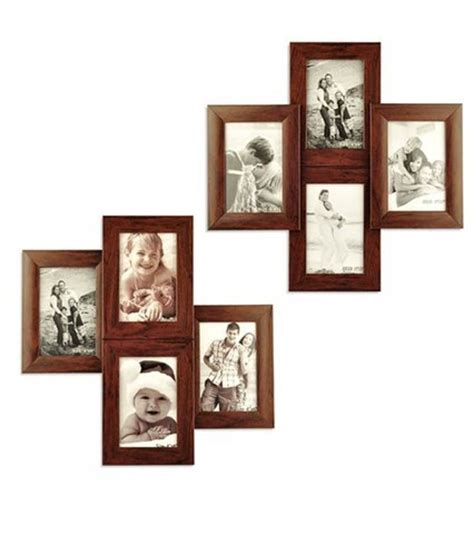 Black 4 Opening Collage Frame For 8x10 Prints