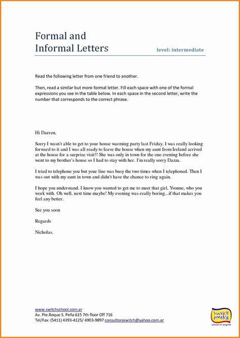 english letter format formal  informal penn