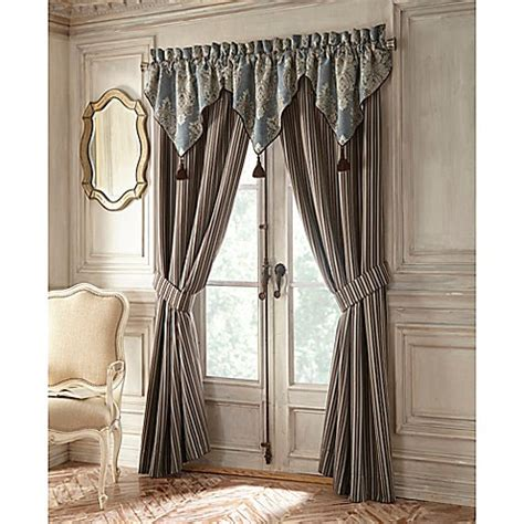 waterford 174 linens hilliard ascot window valance in
