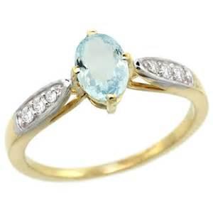 aquamarine engagement rings 14k gold aquamarine engagement ring engagement rings review