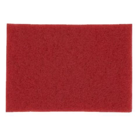 3M Red Buffer Pad 5100, 20x14 inch3M Red Buffer Pads 5100