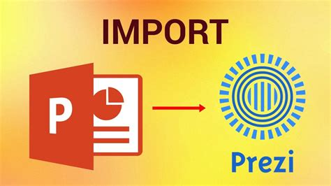How to Import Powerpoint Presentation to Prezi - YouTube