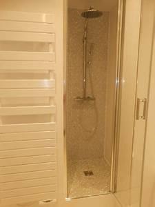 Pose Douche Italienne : pose installation de receveur bac douche cabine et ~ Melissatoandfro.com Idées de Décoration