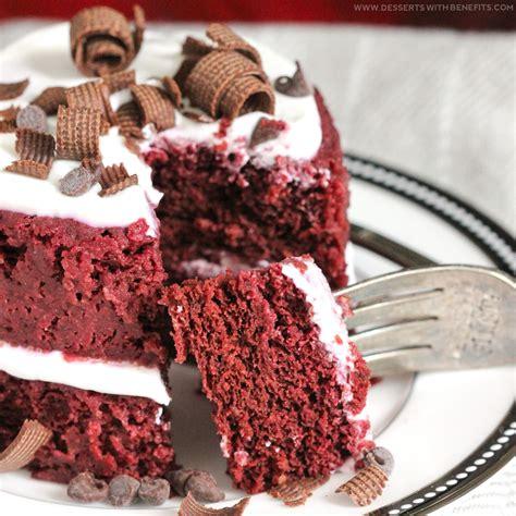 healthy single serving red velvet microwave cake gluten