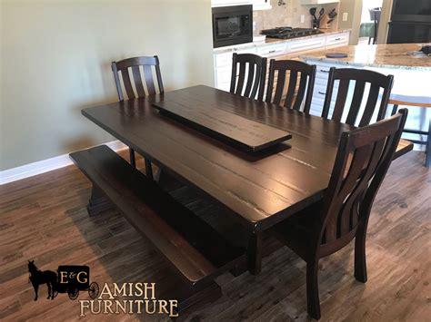 delivered  stunning trueman trestle table