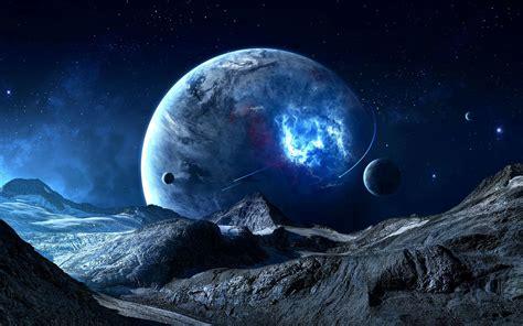 fantasy planets hd wallpaper