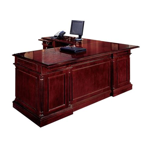 left handed l shaped desk keswick english cherry executive l shape desk left handed