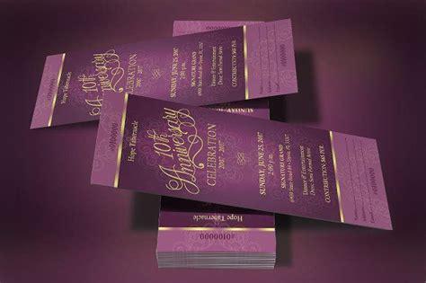 church anniversary banquet ticket  images ticket