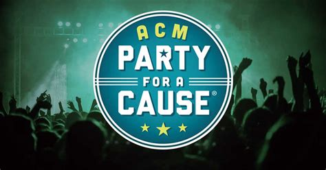ACM's Exciting 7th Annual Party for A Cause Features Star ...