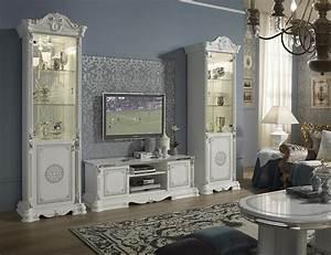Moderne Barock Möbel : tv unterschrank great weiss silber italienische m bel barock xp pkgrsstp1 ~ Sanjose-hotels-ca.com Haus und Dekorationen