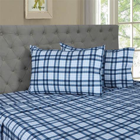 grace home fashions flannel 3 pc sheet sheets