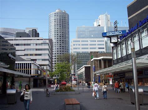 Shoppen In Rotterdam by Bestand Rotterdam Shopping Alley Jpg