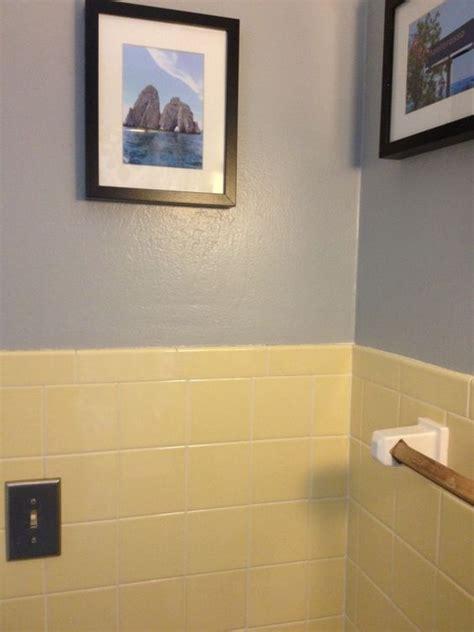 yellow tile bathroom ideas yellow bathroom tile with grey walls new house pinterest grey walls yellow and grey