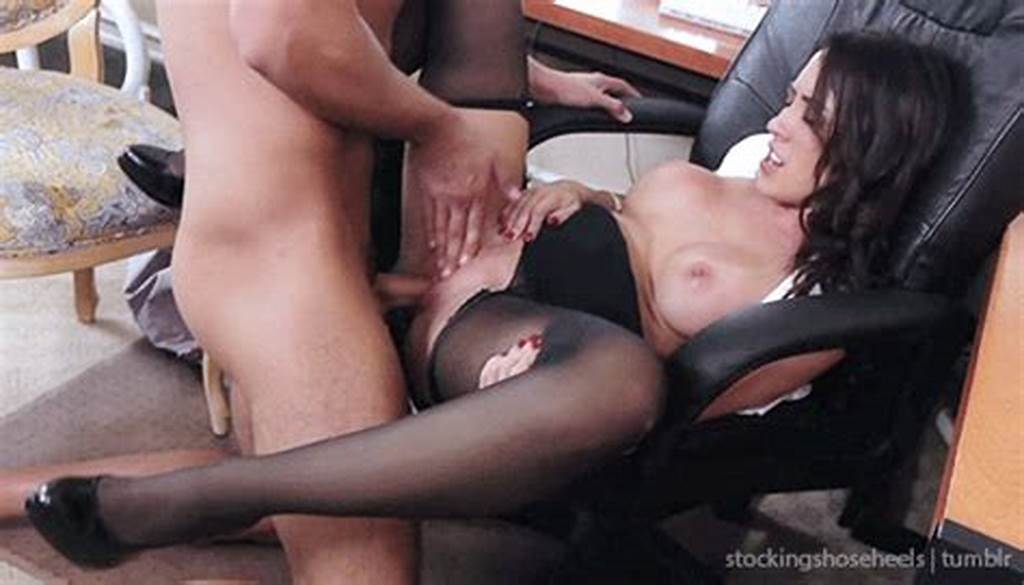 #Hot #Secretary #In #Stockings #Sex #Gif