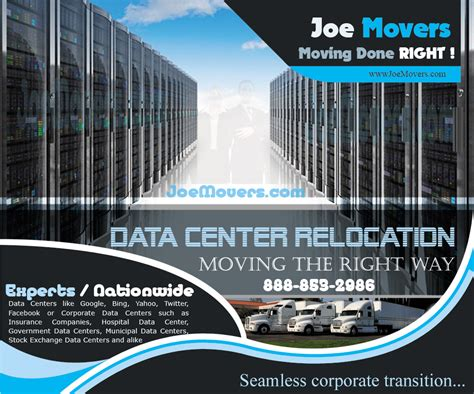 joe movers expands  data center relocation services