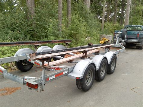 Boat Trailers For Sale On Cape Cod by King Axle Trailer 12000lbs Gross Excellent Shape
