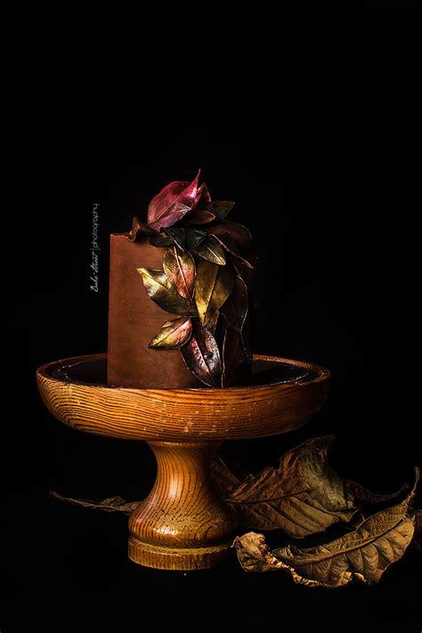 autumn cake chocolate  caramel bake streetcom
