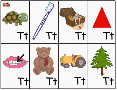 things that start with letter t with objects that things that start with letter t letters font 33428
