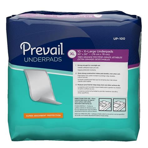 prevail disposable underpads buy prevail underpads on sale