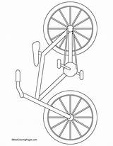 Coloring Bike Bicycle Pages Street Bmx Mountain Drawing Safety Printable Signs Bikes Sheets Bestcoloringpages Craft Projects Getcolorings Sport Preschool Popular sketch template