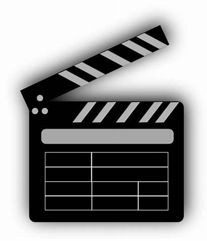 Clapper Board Clip Clipart Movies Clker