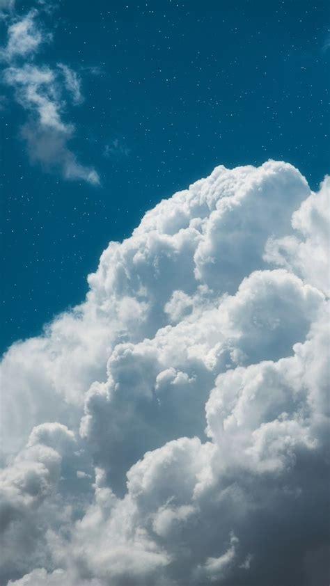 clouds in the blue sky blue sky wallpaper sky