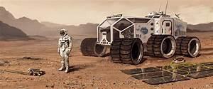 human Mars: Concept art for The Martian by Oleg Zherebin