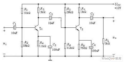 Resistance Coupling Voltage Amplifier Circuit Basic