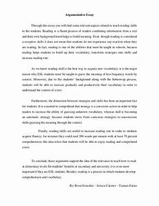 Argumentation Essay Topics Childhood Story Essay Argumentative Essay  Argumentative Essay Topics Teenage Pregnancy Essay On Fast Food Write My Ad Analysis also How To Write A Thesis Statement For A Essay  How To Write An Essay With A Thesis