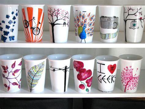 17 Best Ideas About Coffee Mug Sharpie On Pinterest