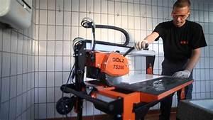 Fliesen Reinigen Maschine : g lz ts200 fliesen trenn maschine youtube ~ Buech-reservation.com Haus und Dekorationen