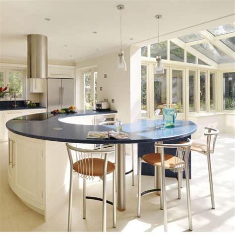 inspired   spacious kitchen extension housetohome