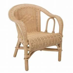 Fauteuil Pour Bébé : fauteuil enfant edgar en rotin la vannerie d 39 aujourd 39 hui ~ Teatrodelosmanantiales.com Idées de Décoration