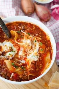 Dillsauce Einfach Schnell : lasagne suppe so geht 39 s ~ Watch28wear.com Haus und Dekorationen