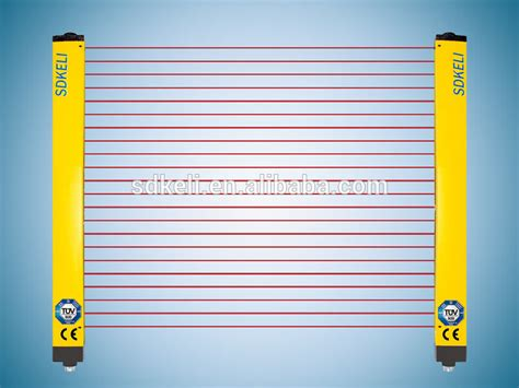 type4 cat4 safety light curtain infrared beam sensor