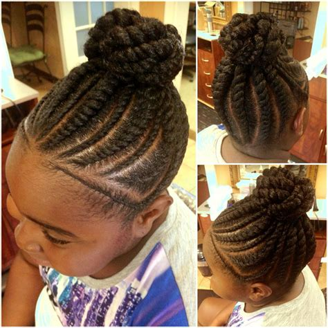 Flat Twist Ponytail Hairstyles by Pin On Hair Dos