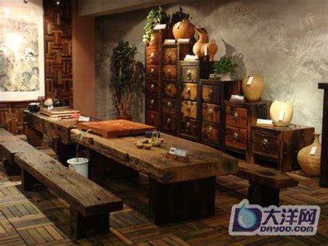 Antique Wood Furniture Store Life Of Guangzhou