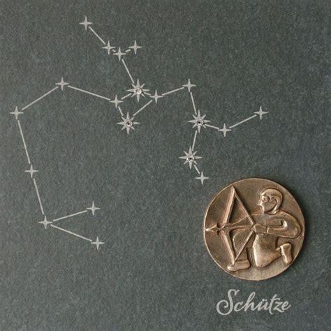 Was Passt Zum Schützen by Wandrelief Sternzeichen Sch 252 Tze Schiefer Swarovski 14 5cm