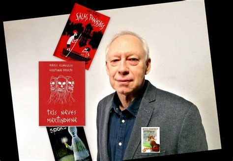 Zelta Pogas sabiedrībā rakstnieks, daudzu populāru bērnu grāmatu autors Māris Rungulis ...